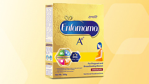 Enfamama A+ 350 g chocolate