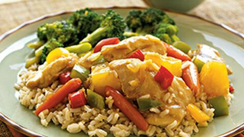 Sweet and Sour chicken - A Rich Source of Choline