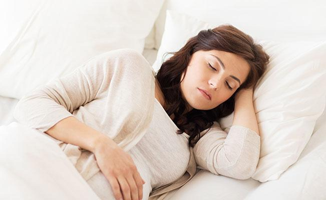 Get better sleep during pregnancy